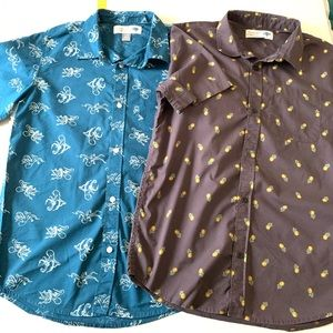 Old navy boys button shirt